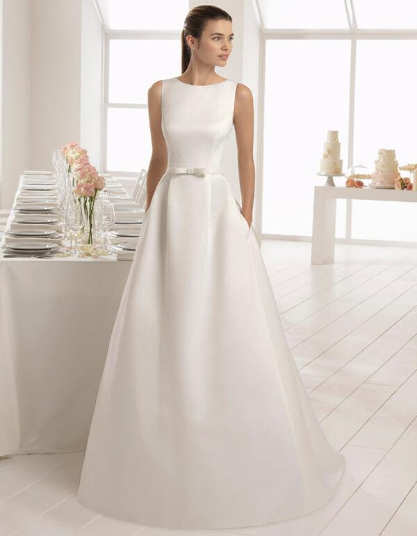 Vestidos de Noiva | Vestido de noiva simples, Vestido de